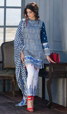 Image result for origin collection 2017 Pakistani Outfits, Pakistani Fashion Casual, Traditional Outfits, Blouse Designs, Dress Designs, Indian Suits, Indian Wear, Indian Attire, Indian Dresses