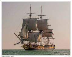 first sailing of l'Hermione