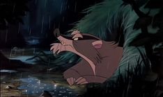 """""""Mr. Digger"""" aka Angry Badger from Disney's """"Fox and the Hound"""""""