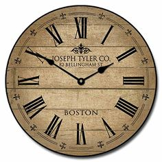 "Barnwood Tan Wall Clock, 10"" - 48"", Whisper Quiet, non-ti... https://www.amazon.com/dp/B01CNBLXIQ/ref=cm_sw_r_pi_dp_x_YQeCybRZERPFG"