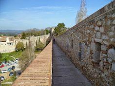 Publicamos las murallas de Gerona.  #historia #turismo http://www.rutasconhistoria.es/loc/muralla-de-gerona