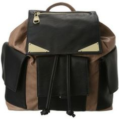 Buy Steve Madden - City Style Back Pack (Black/Taupe) - Bags and Luggage online - 6pm is proud to offer the Steve Madden - City Style Back Pack (Black/Taupe) - Bags and Luggage: Shine on! Create electric elegance adorned with the Steve Madden City Style Back Pack!