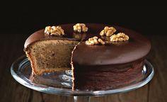 Recette de gâteau au chocolat et aux noix de Robuchon par Sophie