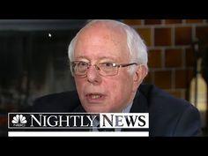 Senator Bernie Sanders: 'He Makes Me Very Nervous' On Donald Trump | NBC Nightly News - YouTube