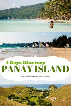 Panay Island travel guide and itinerary for 4 days - including Boracay, Carabao Island, Malalison Island and Seco Island - Philippines