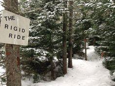 Life on Island : Snowshoeing at Brookvale Provincial Park