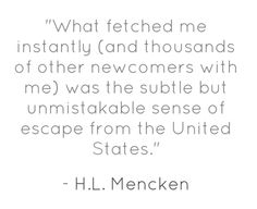 L Mencken quote