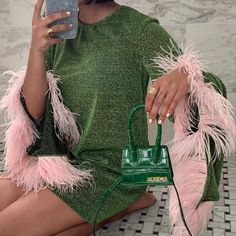 Start saving now for the mini Chiquito bag via the link in our bio because it's the little things in life ⠀ Fashion Week, Runway Fashion, High Fashion, Fashion Looks, Fashion Outfits, Photoshoot Fashion, Classy Fashion, Fashion Fashion, Fashion Trends