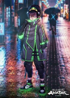 The Last Airbender Characters, Avatar The Last Airbender Art, What Is Cyberpunk, Avatar Kyoshi, Cool Avatars, Hd Anime Wallpapers, Female Characters, Fictional Characters, Cyberpunk 2077