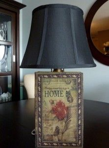 Make Your Own Book Lamp -