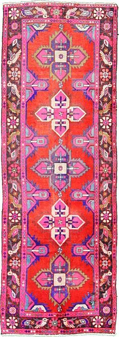 our obsession with colorful rugs keeps growing #homedecor #bohemian #persianrug
