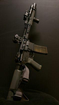 "BCM ELW-F 14.5"" Midlength Carbine."