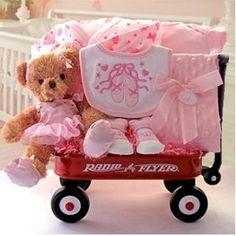 Baby Ballerina Baby Wagon- cute gift for a baby girl