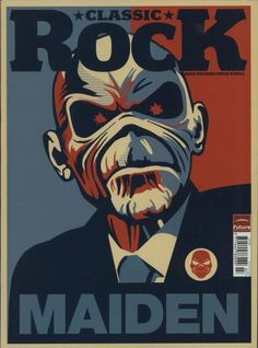 Iron Maiden Classic Rock - July 2011 magazine UK IROMACL678094