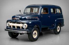 utwo 1951 Ford F1 Ranger