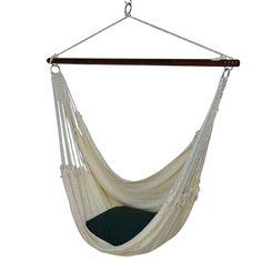 jumbo caribbean polyester chair hammock found it at wayfair   large caribbean hammock chair   home sweet      rh   pinterest