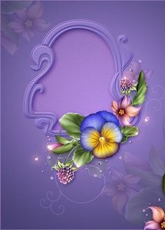 Moonbeam's Summer Pansies, is a digitally painted colorful Pansy design resource rendered in summer hues. Frame Background, Paper Background, Flower Frame, Flower Art, One Stroke Painting, Borders And Frames, Floral Border, Flower Wallpaper, Fabric Painting