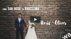 Form San Diego to Barcelona. Una boda con Bodas de Cuento.