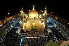The mosque of Amir Al-Mumineen, Ali Ibn Abu Talib (AS) - Najaf, Iraq