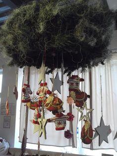 stropný vianočný veniec