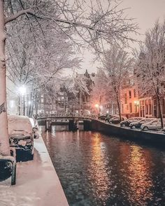 e59f7707863d Winter in Amsterdam shared by Fred on We Heart It