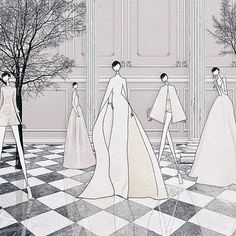 """Watching @maisonvalentino #HauteCouture live  . #jskillustration  #jaesukkim #fashionstyle #trendyillustrations #イラスト #fashionart #vsco #drawing #fashionillustration #illustrator #ootd #fashionillustrator #fashionphoto #vscocam #패션일러스트 #일러스트 #일러스트레이터 #블로거 #패션일러스트레이션 #illustration #MirabiliaRomae #valentino #couture #SusuGirls"" Photo taken by @jaesukkim on Instagram, pinned via the InstaPin iOS App! http://www.instapinapp.com (07/09/2015)"