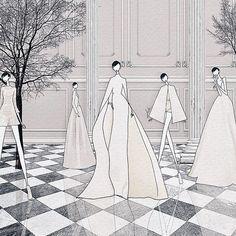 """Watching @maisonvalentino #HauteCouture live  . #jskillustration  #jaesukkim #fashionstyle #trendyillustrations #イラスト #fashionart #vsco #drawing #fashionillustration #illustrator #ootd #fashionillustrator #fashionphoto #vscocam #패션일러스트 #일러스트 #일러스트레이터 #블로거 #패션일러스트레이션 #illustration #MirabiliaRomae #valentino #couture #SusuGirls"" Photo taken by @jaesukkim on Instagram, pinned via the InstaPin iOS App! http://www.instapinapp.com (07/09/2015)"
