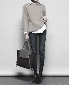 what to wear with jeans and chelsea boots best outfits - Page 31 of 100 Casual chic for weekend Image source Fashion Mode, Work Fashion, Trendy Fashion, Winter Fashion, Womens Fashion, Fashion Trends, Dress Fashion, 50 Fashion, Fashion Styles