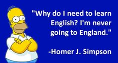I love when my students ask what language Shakespeare spoke. When I tell him he was English, they still ask what language..hahaha
