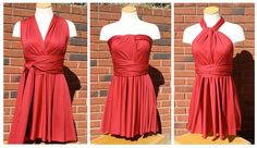 As a college student, I love style for cheap...so a DIY infinity dress for under $20 sounds awesome to me!