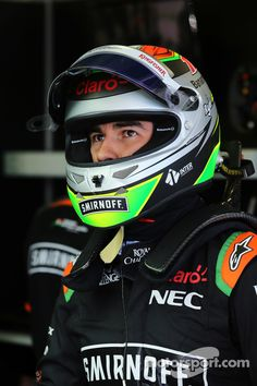 Sergio Perez Sahara Force India 2015