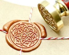 Wax seal stamp – Etsy