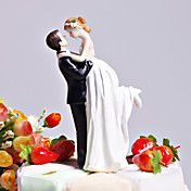 """Love Swept"" Bride & Groom Wedding Cake Toppe... – USD $ 9.99"