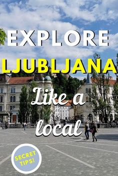 Eplore Ljubljana like a local. Discover the best off the beaten path things to do in Ljubljana, famous tourist attractions in Ljubljana, amazing Ljubljana restaurants and great hotels in Ljubljana from this Ljubljana city guide. Read it now. Save this pin for later. #ljubljana #ljubljanatravelguide #ljubljanaguide #slovenia #europetravel #earthsattractions #traveldestinations #trending #traveltips #travel