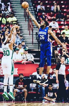 Mitchell Robinson may have been the steal of the draft Double Clutch, New York Knicks, Fun Games, Kicks, Guys, Nba, Sports, Cool Games, Hs Sports