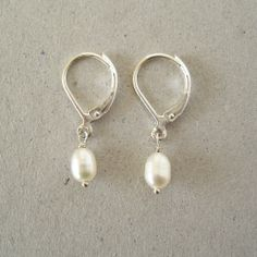 forever pearl earrings - a classic for all time, a must-have for your wardrobe - June Birthstone Jewelry
