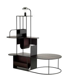 Multi-height geometic abstract display stand // Roderick Vos