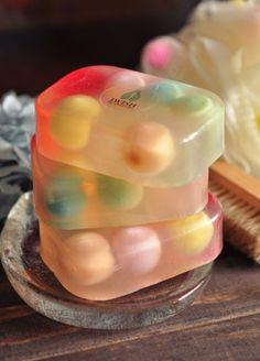 Ball handmade soap. Get more: pinterest.com/fancybt