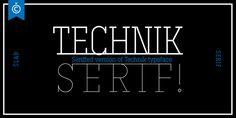 Font dňa – Technik Serif (zľava 75%, od 6,25$) - http://detepe.sk/font-dna-technik-serif-zlava-75-od-625/