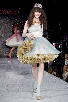 Even after a tough year, she still got it! Betsey Johnson Spring 2013 RTW.