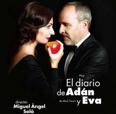 El diario de Adán y Eva, una tarde en el Paraíso con Ana Milán y Fernando Guillén Cuervo.