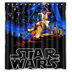 Other Promotional Movie Merchandise Fabric Shower Curtains, Bathroom Shower Curtains, Vintage Looks, Retro Vintage, Pin Up Girls, Artwork Prints, Star Wars, R2 D2, Original Movie