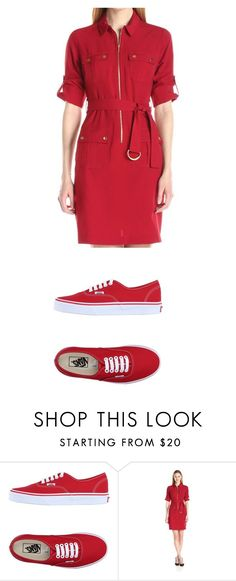 """Untitled #871"" by laurie-egan on Polyvore featuring Vans and Sharagano"