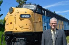 """""""Its no way to run a railroad,"""" comments MP Bruce Hyer (Thunder Bay Superior North). The MP was outlining his plan to restore passenger rail service"""