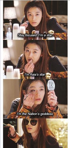 , I love this scene  Jun Ji Hyun is the queen
