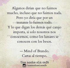 Mind of Brando Cartas al tiempo Una Noche sin café