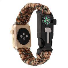 Nový Hot Náhradní náramek řemínek hodinky Band pro Apple 3 2 1 barevné  smíšené sportovní tkané nylonové lano 38mm 42mm hodinky zápěstí Band dc6be86118