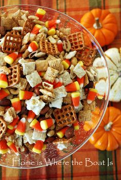 A Surplus of Candy Corn | Home is Where the Boat Is