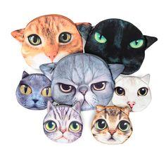 Suloiset kissapussukat, 12,90 €. Useita erilaisia. Cybershop, 5. krs.