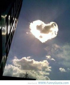 amazing cloud shape